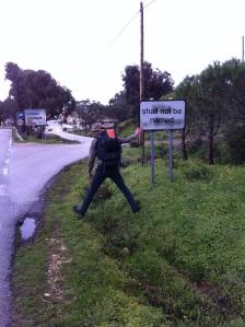 17 kilometers down