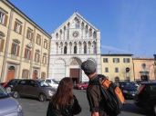 One of the many churches in Pisa.