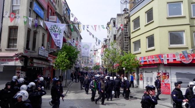 Barricades, Tear Gas, and Friendly Neighbors
